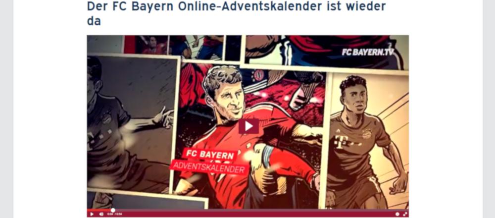 Fc Bayern Adventskalender Gewinnspiel