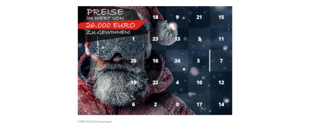 Computer Bild Adventskalender Gewinnspiel