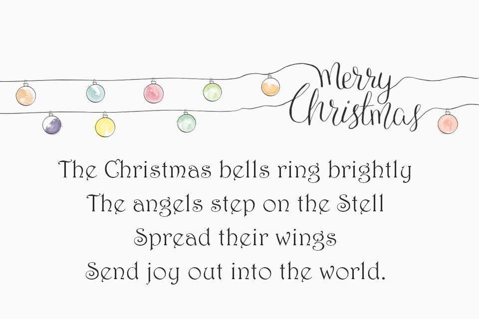 Weihnachtsgedichte Auf Englisch