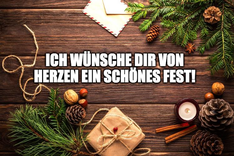 Gutscheinsprüche für Weihnachten