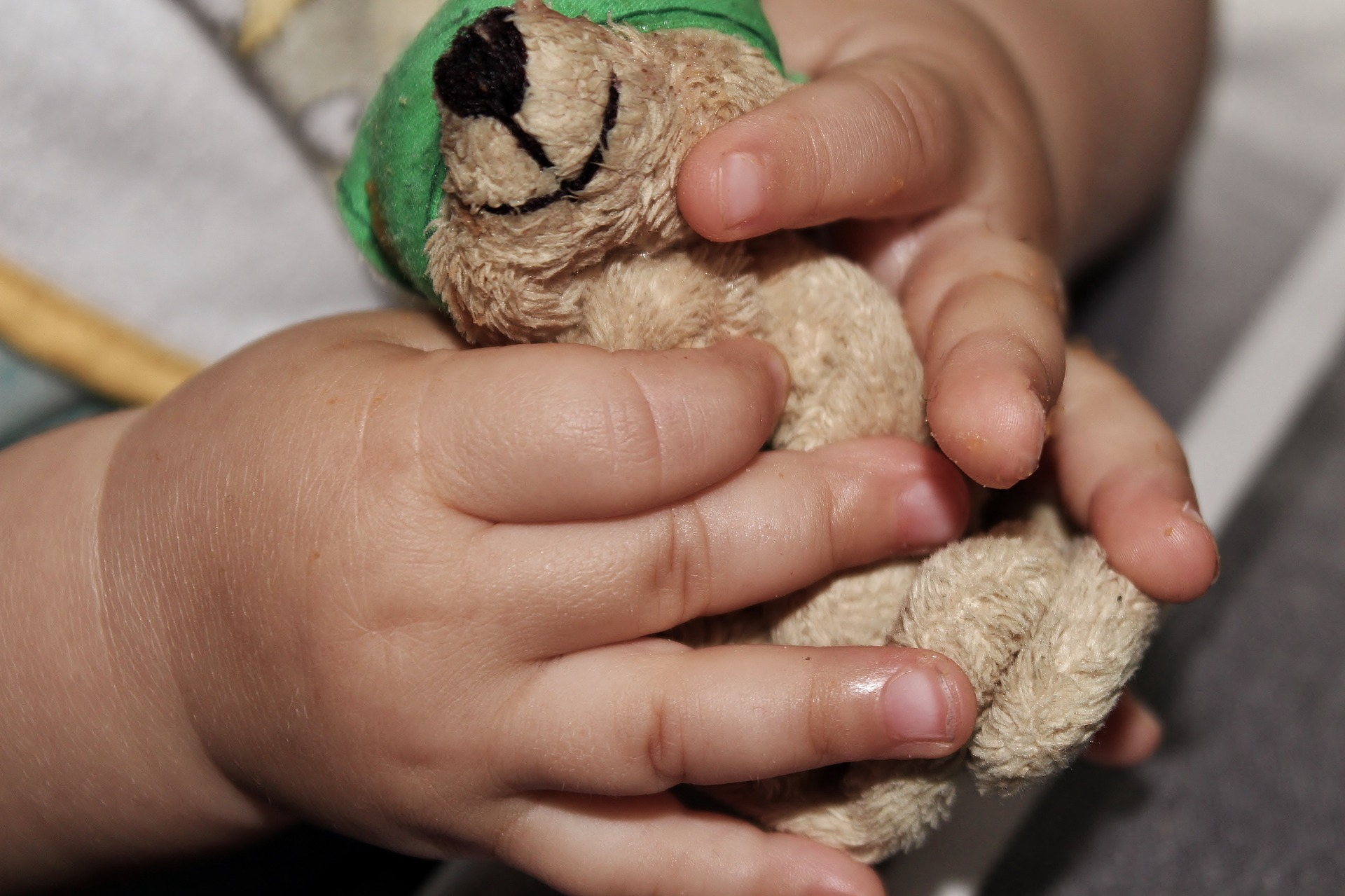 Kirschkernkissen Baby in Teddyform
