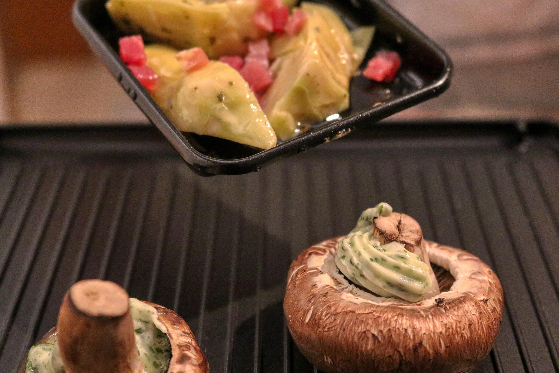 Raclette reinigen