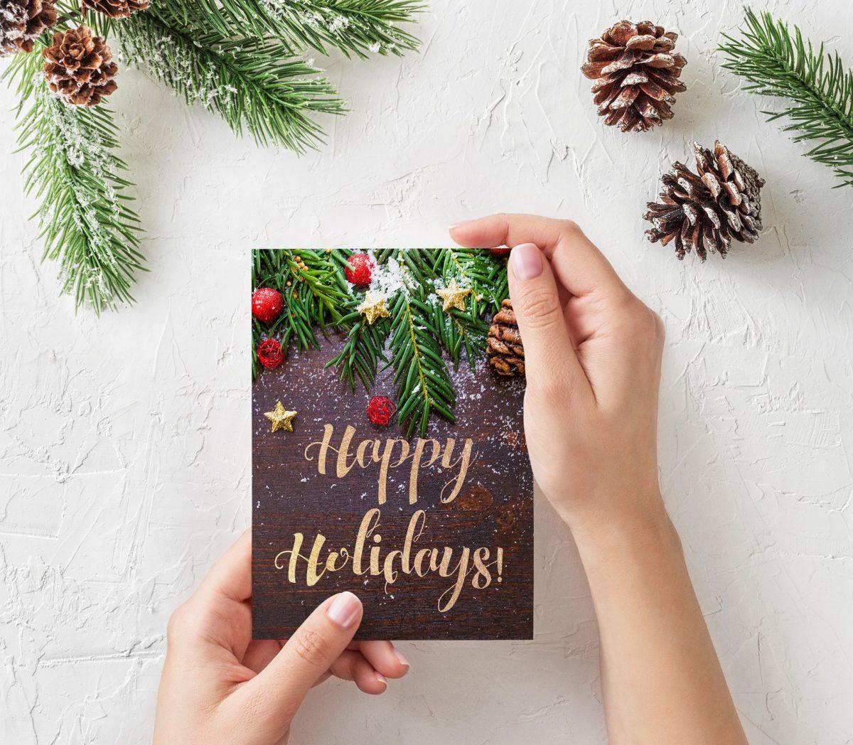 Weihnachtspost – Ideen und Beispiele
