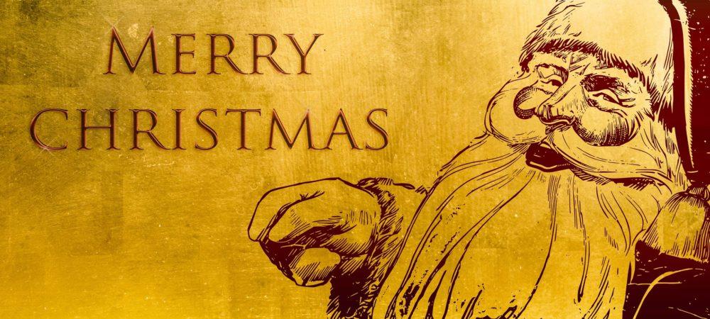 Weihnachtspost oder Weihnachtskarte