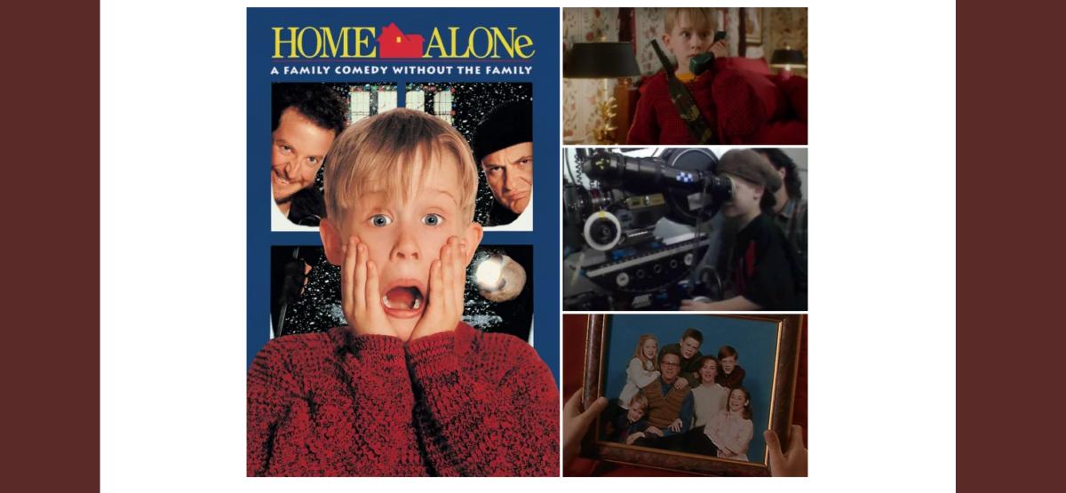 Weihnachtslied von Kevin allein zu Haus
